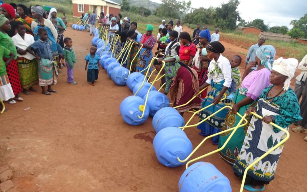 MAT Distributes Water Wheels in Mangochi